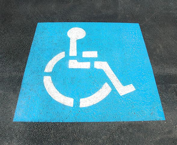 sign for disabled